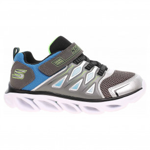 Skechers S Lights - Hypno-Flash 3.0 silver-blue