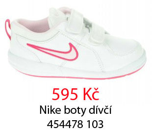 Celý sortiment dívčích bot Nike